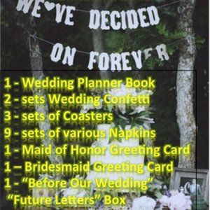 Wedding Planner and Reception Accessories